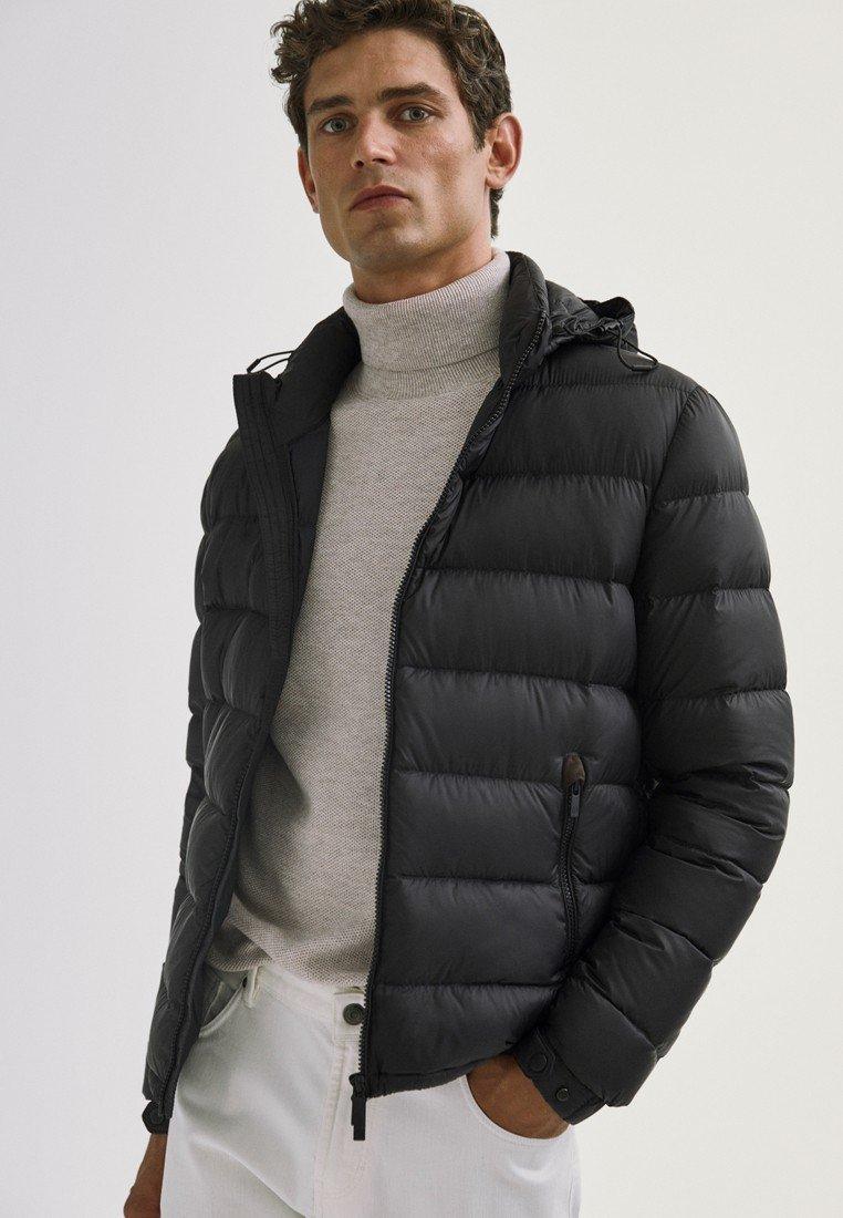Massimo Dutti - Vinterjakker - black