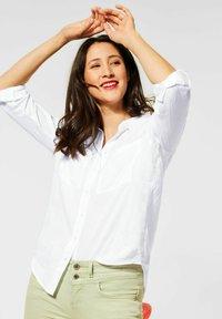 Street One - Button-down blouse - weiß - 0