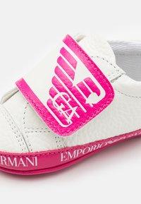 Emporio Armani - First shoes - white - 5