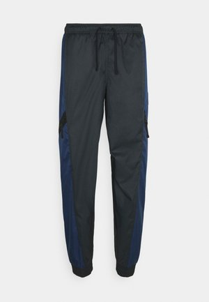 PANT - Pantalones deportivos - midnight navy/black