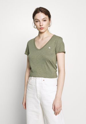 SOFT TEE - T-shirts - green