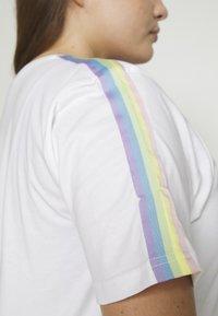 Ellesse - MADELENA - Print T-shirt - white - 8
