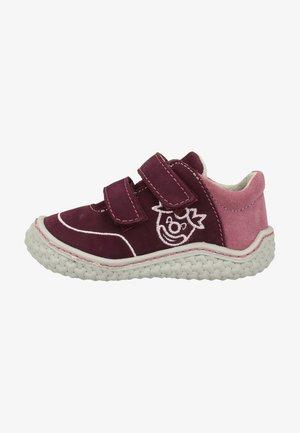 Baby shoes - merlot/purple 382