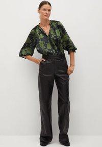 Mango - BICO - Button-down blouse - kaki - 1