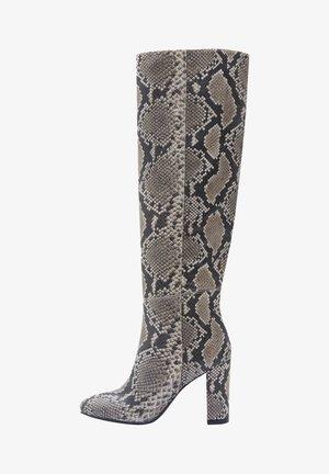 Laarzen met hoge hak - gray