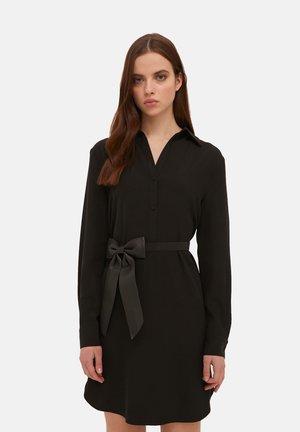 Shirt dress - nero