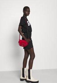 GCDS - WRAPPED DRESS - Day dress - black - 3
