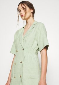 sandro - Day dress - vert amande - 4