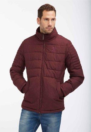 ANORAK - Winter jacket - bordeaux melange