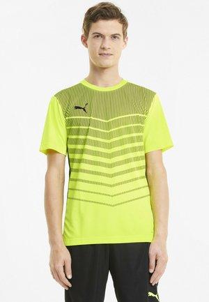 Sports shirt - yellow alert-black