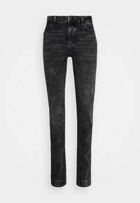 SIKSILK - ELASTICATED CUFF - Jeans slim fit - washed grey - 3
