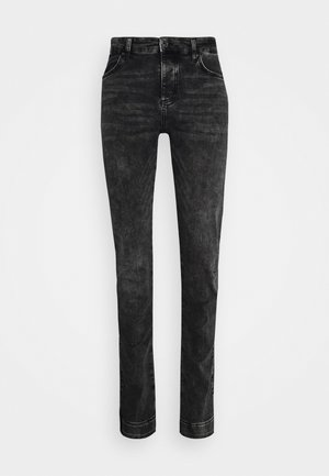 ELASTICATED CUFF - Vaqueros slim fit - washed grey