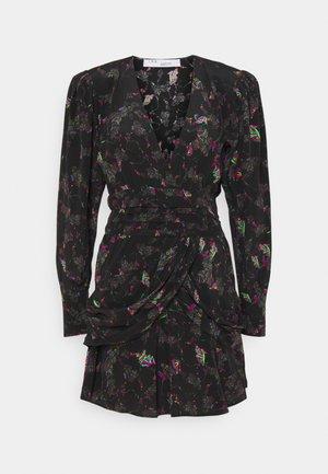 MOKIE DRESS - Day dress - black/multicoloured
