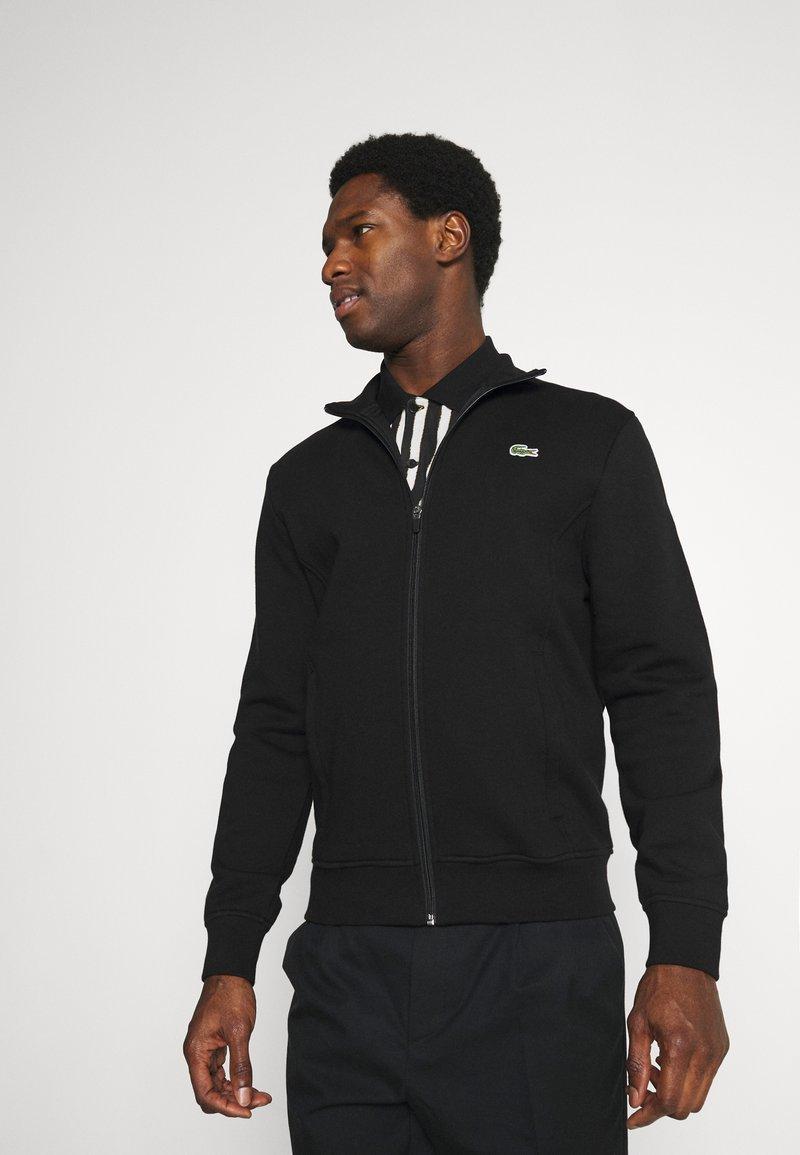 Lacoste - Zip-up hoodie - black