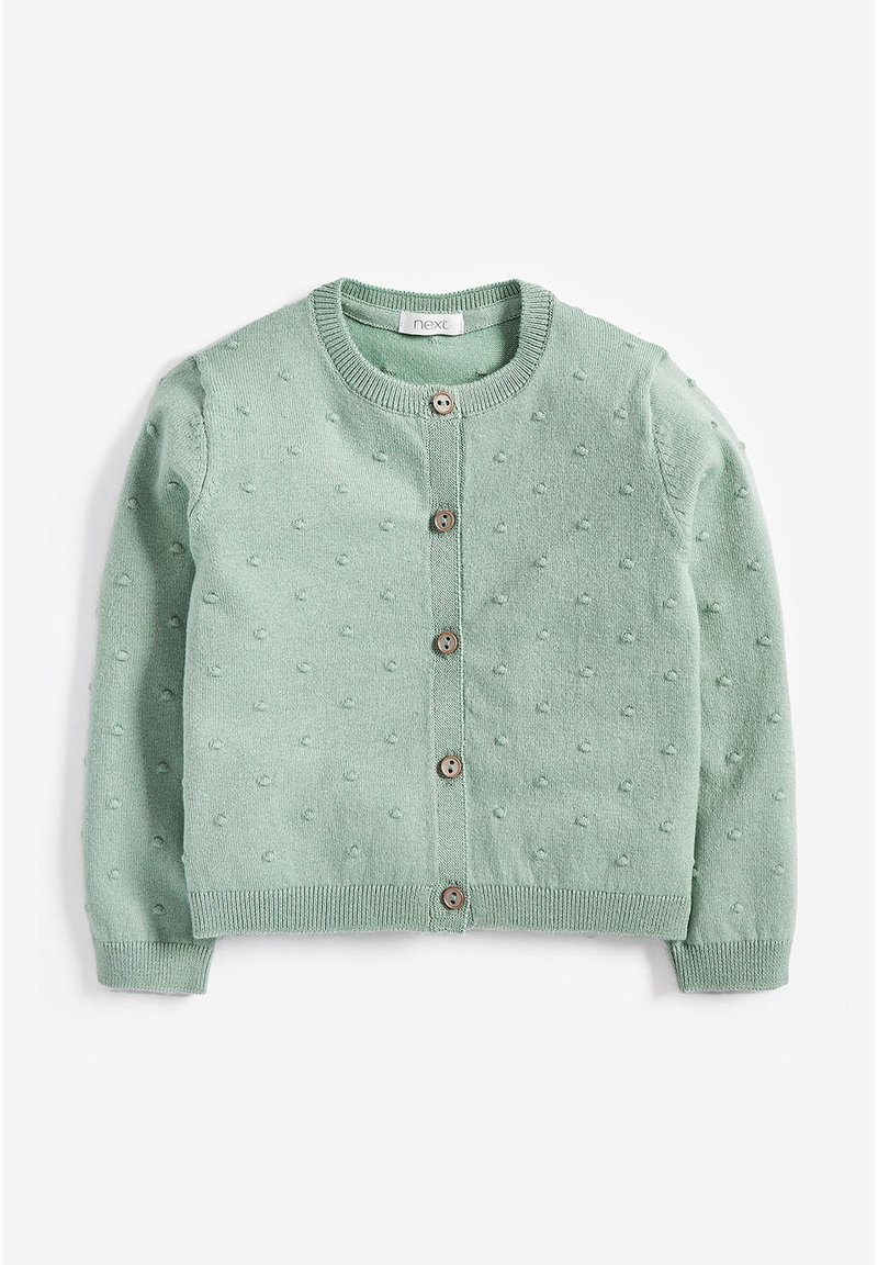 Next - BOBBLE  - Chaqueta de punto - green