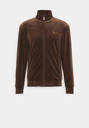 SMALL SIGNATURE JACKET UNISEX - Veste de survêtement - brown