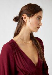 PULL&BEAR - Day dress - bordeaux - 3