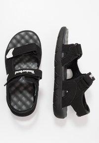 Timberland - PERKINS ROW 2-STRAP - Sandals - black - 0
