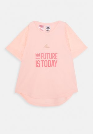 G A.R. XFG TEE - Print T-shirt - light pink