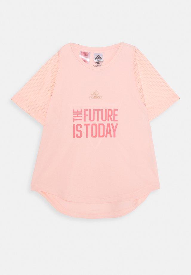 G A.R. XFG TEE - T-Shirt print - light pink