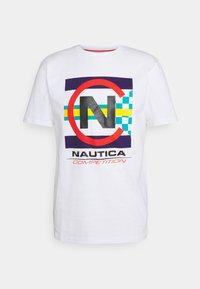 NAUTICA COMPETITION - GRAPNELL - Print T-shirt - white - 0