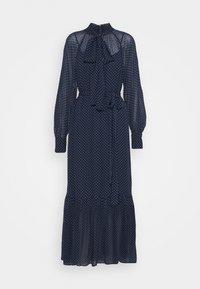 PERFECTION DOTS DRESS - Maxi dress - dark blue