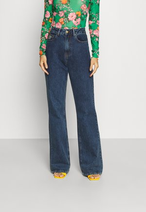 NINETTE - Relaxed fit jeans - dark stone