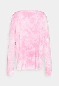 NEW girl ORDER - ITTY BITTY TIE DYE TEE - Topper langermet - pink tie dye - 1