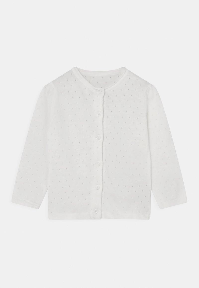 Marks & Spencer London - BABY POINTELLE UNISEX - Vest - ivory
