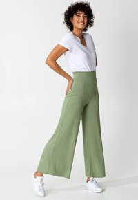 Indiska - LILLEMOR - Trousers - green - 4