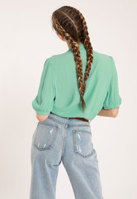 Pimkie - Button-down blouse - green - 2