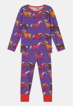 HORSES - Pyjama - purple heart