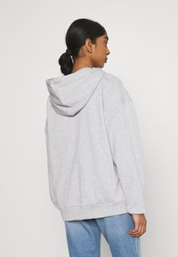 Even&Odd - Mikina na zip - mottled light grey - 2