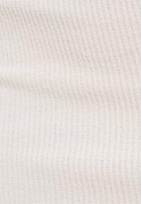 Bershka - Pouzdrová sukně - beige - 5