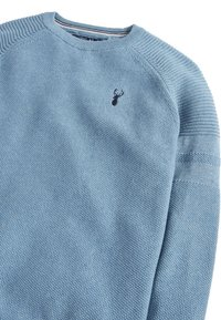 Next - Jumper - mottled blue - 2