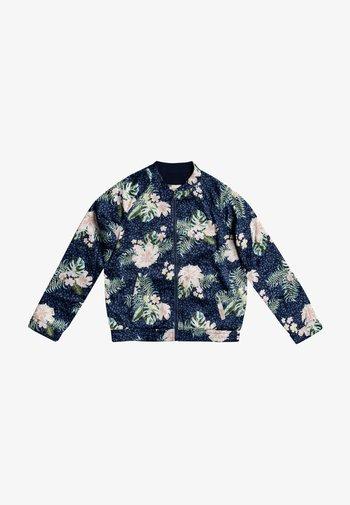 LIKE I DO - Zip-up hoodie - mood indigo animalia