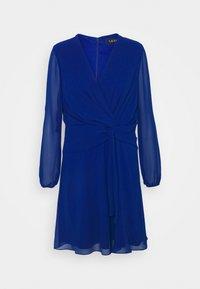 Lauren Ralph Lauren Petite - ROSSLYN LONG SLEEVE DAY DRESS - Cocktail dress / Party dress - sapphire star - 0
