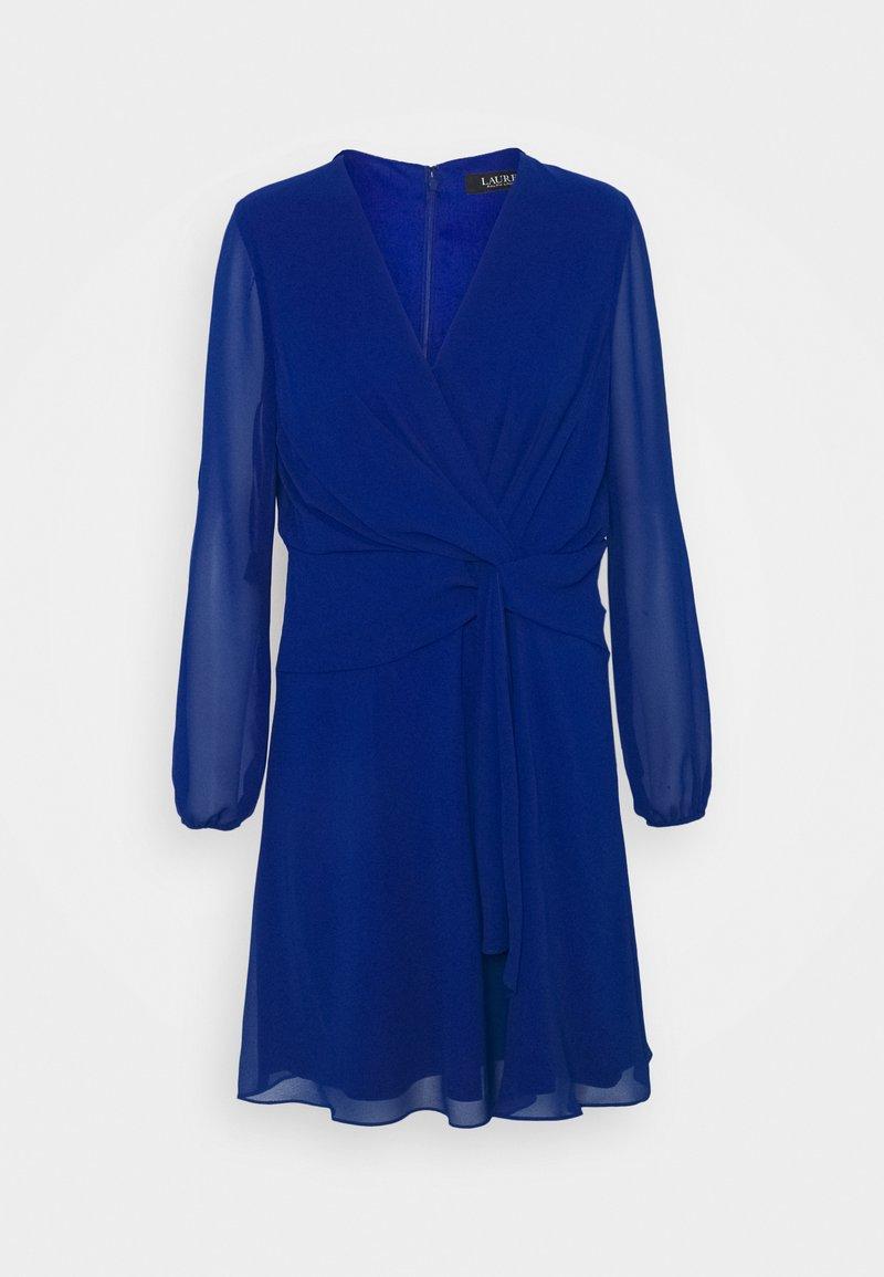 Lauren Ralph Lauren Petite - ROSSLYN LONG SLEEVE DAY DRESS - Cocktail dress / Party dress - sapphire star
