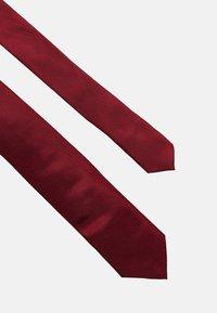 Calvin Klein - SOLID - Tie - red - 3