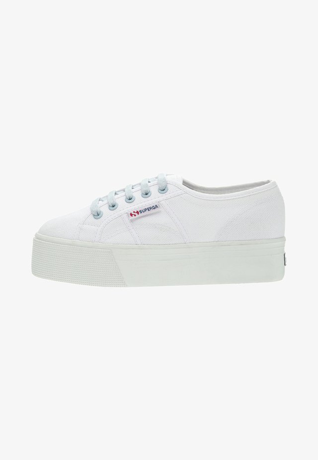 Sneakersy niskie - white-blue lt crysta