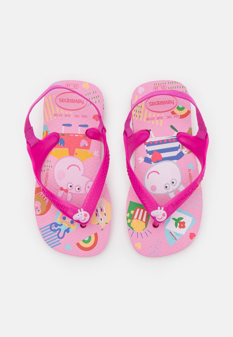 Havaianas - PEPPA PIG - T-bar sandals - pink flux