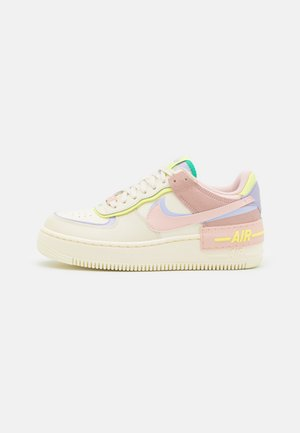 AIR FORCE 1 SHADOW - Baskets basses - pale coral/pure violet/pink oxford/light lemon twist/roma green
