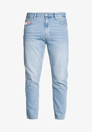 DAD JEAN - Jeans straight leg - light-blue denim