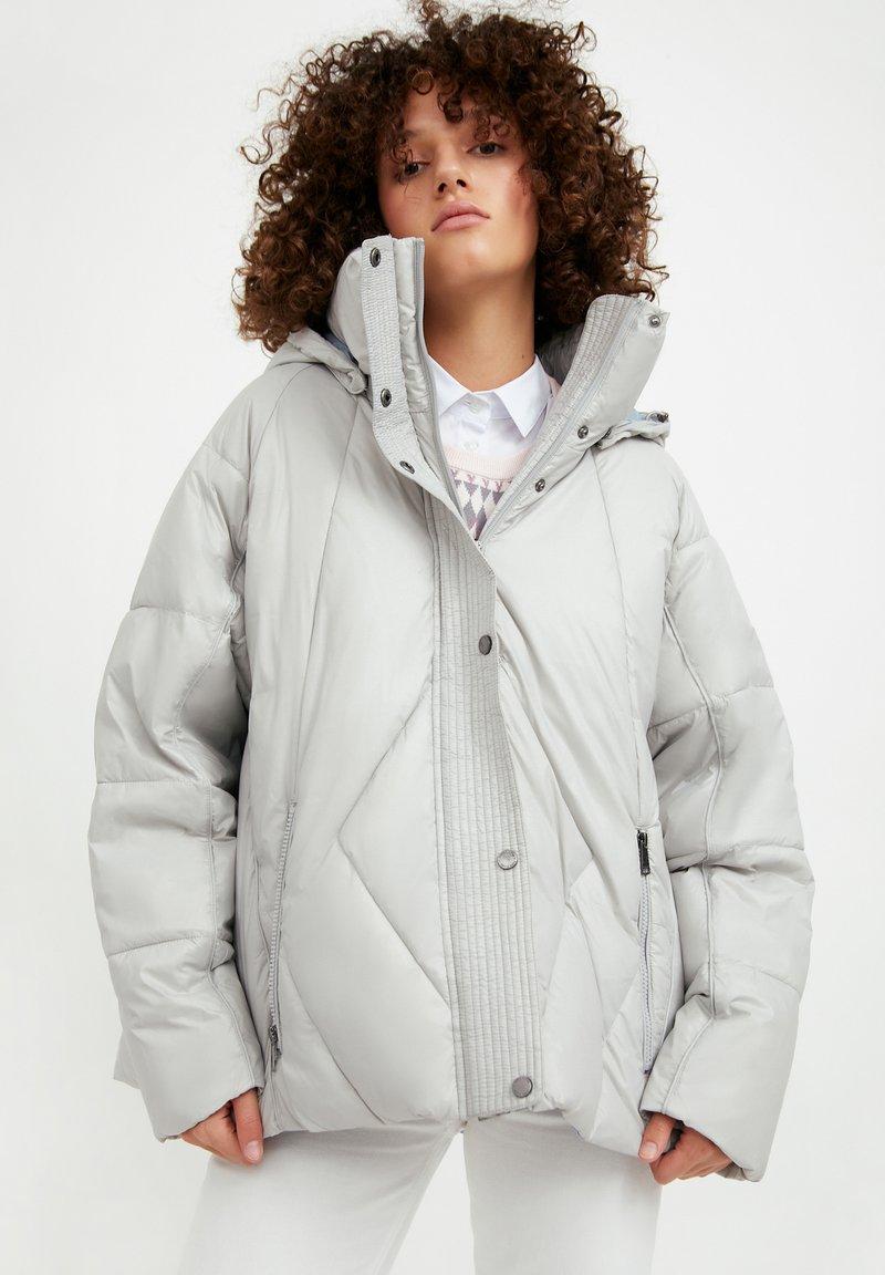 Finn Flare - Winter jacket - light grey