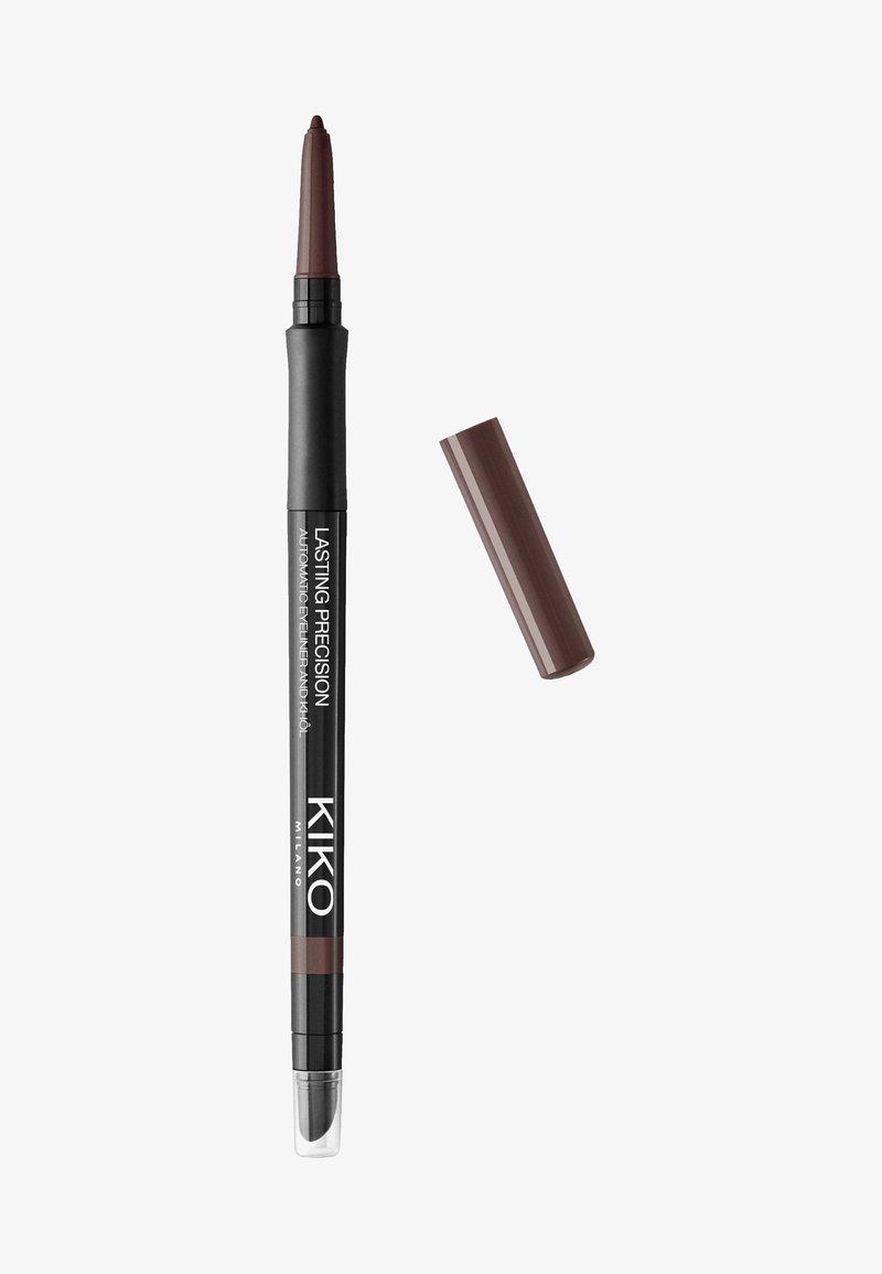 KIKO Milano - AUTOMATIC EYELINER & KHOL - Eyeliner - 13 dark chocolate