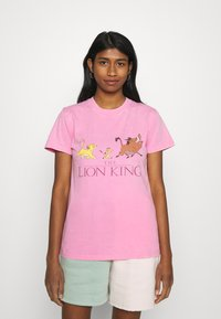 Cotton On - CLASSIC DISNEY - T-shirt con stampa - pink cherry blossom - 0