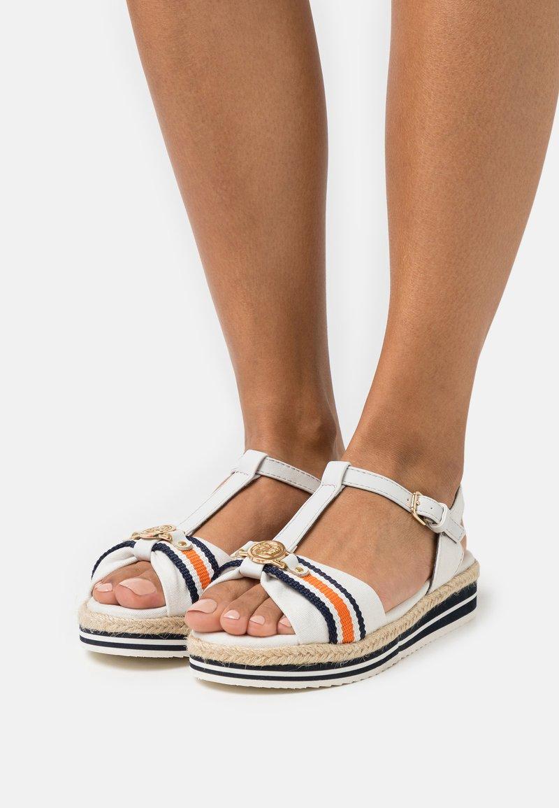 TOM TAILOR DENIM - Platform sandals - offwhite
