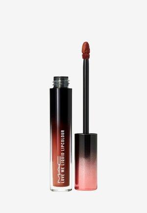 LOVE ME LIQUID LIPCOLOUR - Liquid lipstick - coffee & cigs