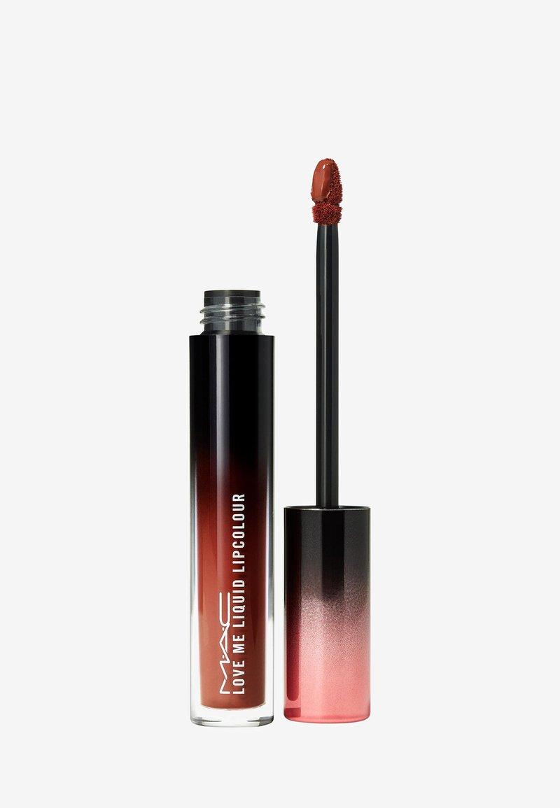 MAC - LOVE ME LIQUID LIPCOLOUR - Liquid lipstick - coffee & cigs