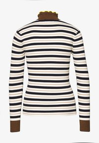 Scotch & Soda - TURTLENECK IN STRIPED - Trui - yellow - 1
